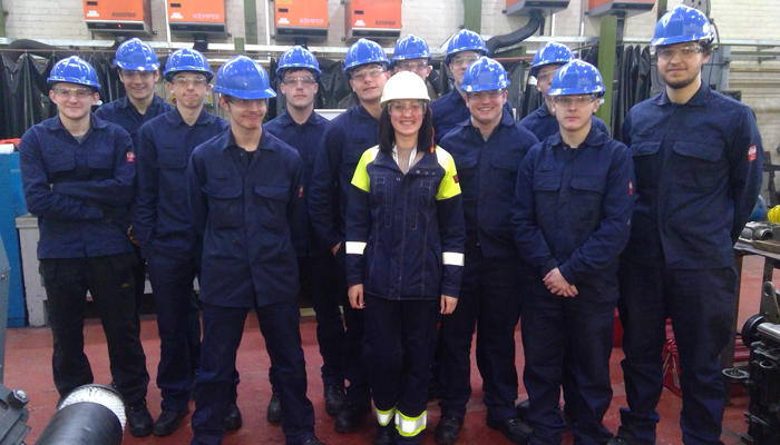 Sheffield Forgemasters Recruits 15 New Apprentices preview image