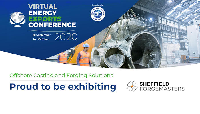 Sheffield Forgemasters Exhibiting at the Virtual Energy Exports Conference (VEEC) preview image