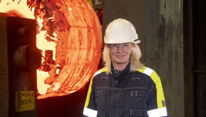 Conservative Party Chair visits Sheffield Forgemasters preview image
